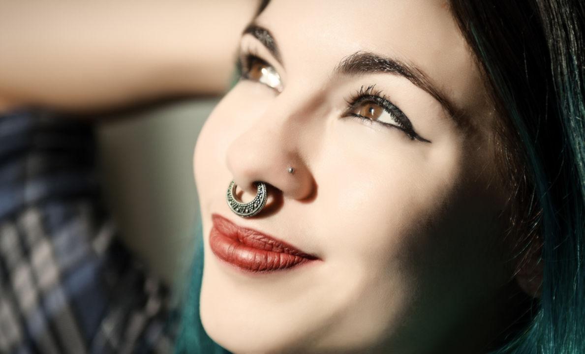 Bunte Septum Clicker - Bring Farbe an die Nase