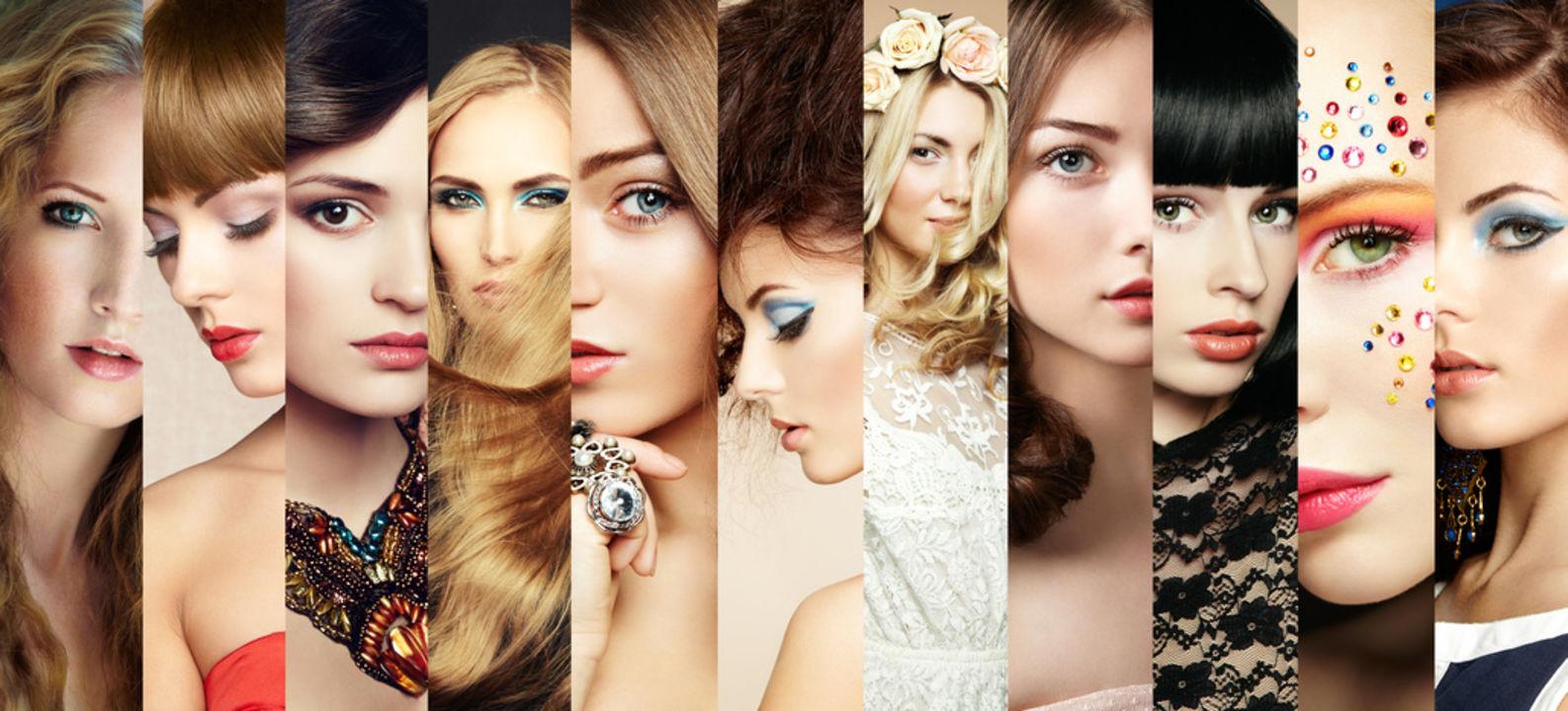 Die Welt des Make-up