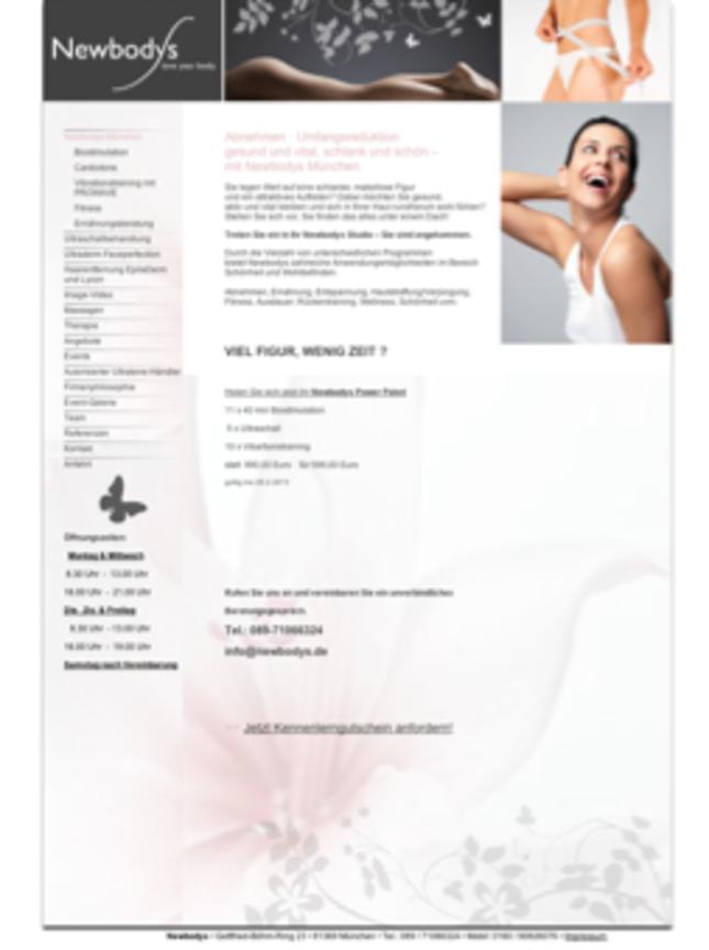 Fitness / Ernährungsberatung bei Newbodys in München, Bayern