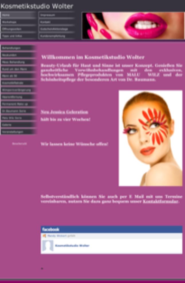 Kosmetikstudio Wolter in Potsdam, Brandenburg