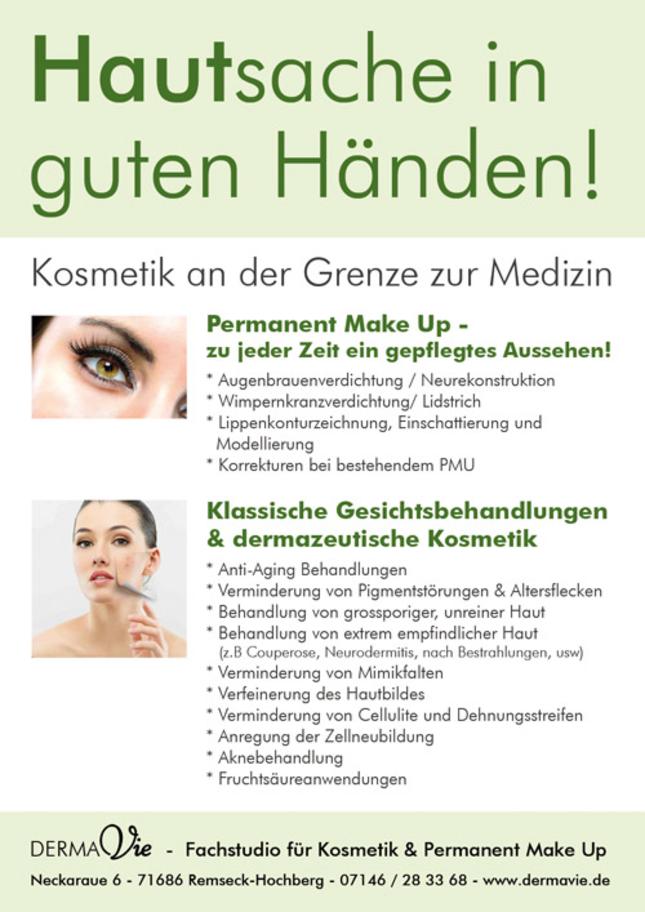 Dermavie - Permanent Make Up und Kosmetik in Remseck am Neckar, Baden-Württemberg
