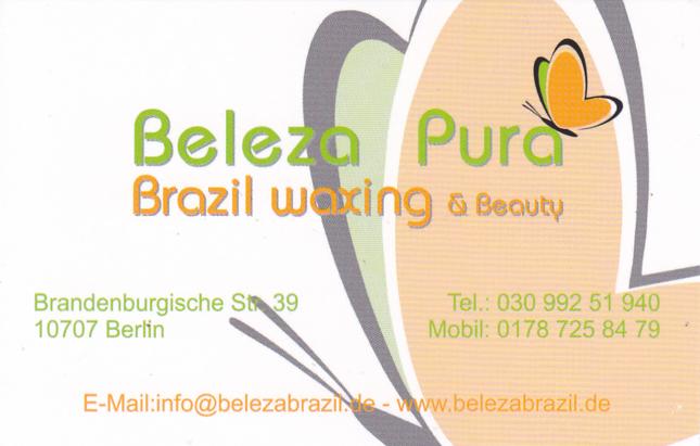 Friseur bei Beleza Pura Brazil Waxing & Beauty in Berlin