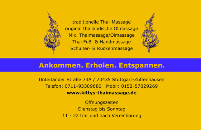 Kitty´s Thaimassage Stuttgart in Stuttgart (Massage)